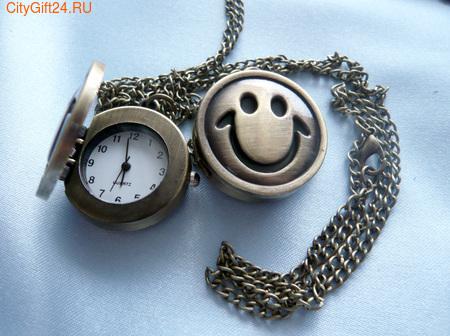 BS Часы на цепочке Смайл