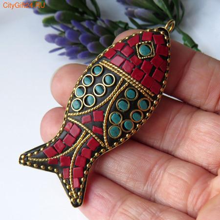 PH Концевик для бус 10*6 мм