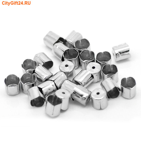 SN Концевик для многорядных бус 6,5*6 мм