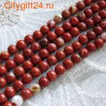 PH Бусина красная яшма 7 мм