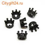 Кольцо с аметистом 17,5 р-р *