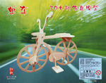 Diytoy Сборная деревянная модель велосипед
