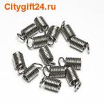 BS Концевик для бус пружинка 5*10 мм