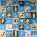 Efco Салфетка для декупажа Морская мозайка