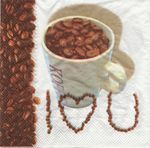 Viero Салфетка для декупажа Кофе