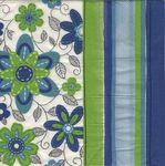 Vetta Салфетка для декупажа Голубые цветы