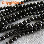 Fashion Jewelry Бусина агат чёрный 4 мм (имитация)