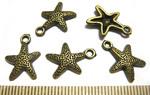 SN Подвеска морская звезда 17*12 мм