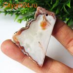 BS Кабошон лунный камень 14*12*7 мм *
