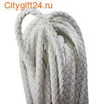 BS Шнур плетеный кожа PU 6 мм
