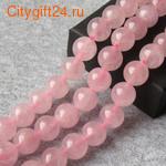 PH Бусина розовый кварц 10 мм