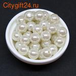 BS Бусина розовый кварц бриолет 11*9 мм