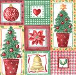 PapStar Салфетка для декупажа Рождественский микс