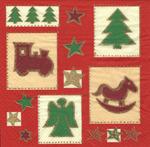PapStar Салфетка для декупажа Рождество