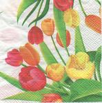 Viero Салфетка для декупажа Тюльпаны
