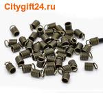SN Концевик для бус пружинка 9*5 мм