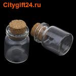 BS Декоративная бутылочка 22*25 мм