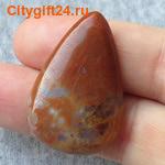 BS Кабошон солнечный камень 39*19*6 мм *