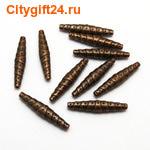 PH Бусина металлическая 25*5 мм