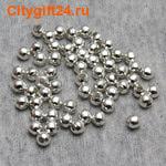 PH Бусина металлическая шар 4 мм