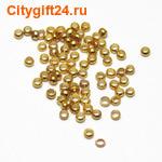 PH Кримп (зажим) 2*1,2 мм золото