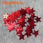 ДС Пайетки звезда 12 мм
