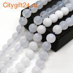 BS Бусина кварц сахарный 15-19 мм