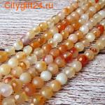 Fashion Jewelry Бусина аметист плоская 12 мм
