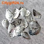 ДС Пайетки листик 16*9 мм