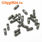BS Бусина металлическая 3*8 мм