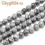 BS Бусина розовый кварц 6 мм