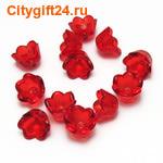 PH Розетка для бус цветок 10*7 мм