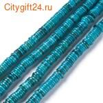 BS Бусина металлическая сердце 12*7 мм