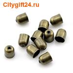 SN Концевик для многорядных бус 6*5 мм