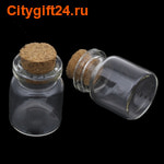 BS Декоративная бутылочка 22*30 мм