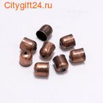 BS Бусина металлическая 12*9 мм