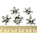 SN Подвеска череп 14*14 мм