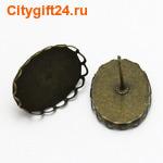 BS Пуссеты (гвоздики) 18*14 мм