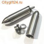 BS Подвеска-кулон пуля 50*10 мм