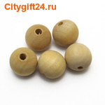 BS Бусина деревянная 18 мм