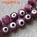 BS Бусина лэмпворк глаз 12 мм