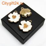 BS Бусина металлическая 10*10 мм