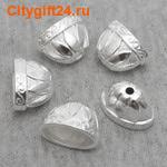 BS Концевик-шапочка для бус 20*14*12 мм