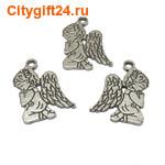 BS Подвеска ангел 17*23 мм