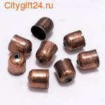 BS Концевик для многорядных бус 12*12 мм