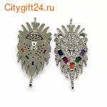 BS Кабошон янтарь натуральный 25*17*5 мм *