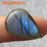 BS Кабошон лунный камень 16*12,5*6 мм *
