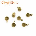 BS Бусина оливка 14*11 мм