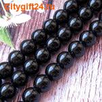 PH Бусина агат чёрный 10 мм (имитация)