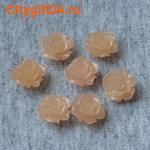 PH Бусина коралл синтетический розочка 10*7 мм